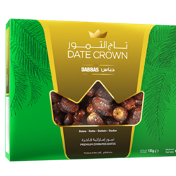 Picture of Crown Dabbas Dates [KHEJUR] 1 KG